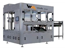 Spouted pouch filling and capping machine