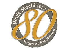 Walls Machinery completed 80 years in business in March 2014