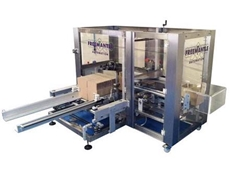 Box or case erecting machine from Walls Machinery