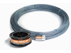 Tempelec wire for electric fencing systems