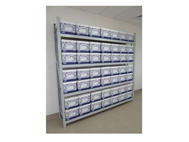 Sturdy design and quality materials make Colby Longspan Shelving a safe and long-lasting business storage solution