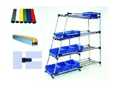 Lean manufacturing modular racking