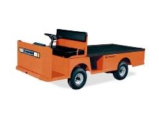 The Taylor Dunn Flatbed Carrier