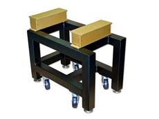 A custom tabletop vibration isolation solution