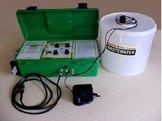 The Auditor I composite sampler.