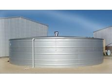 Steelfab steel fabricated rainwater storage tanks