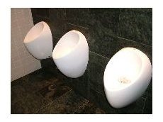 Uridan ceramic urinals – now available from Watersave Australia.