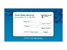 Online water meter service