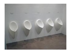 Uridan waterless urinals