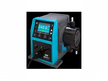 Qdos 30 Pumps have consistent and accurate flow rates up to 7 bar (100psi) pressure
