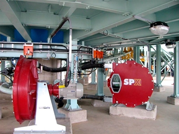 Tough slurry pumps can run 24 hours a day pumping high density materials
