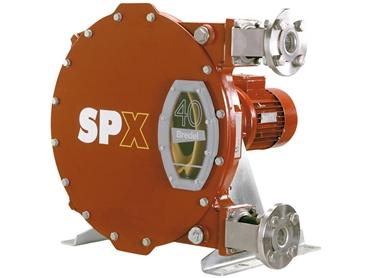 Bredel Positive Displacement Pumps are high flow, high pressure pumps