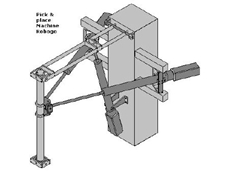 Three-dimensional pick & place robot