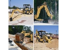 The  416E Cat Backhoe Loader