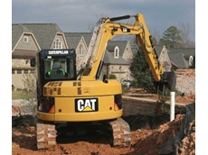 Caterpillar D series excavators
