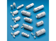 Capacitors for discharge and fluorescent lamps