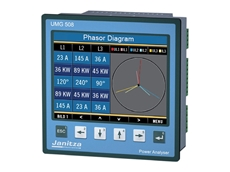Janitza multifunction power analysers provide voltage, current, power and power quality measurements up to the 40th harmonic