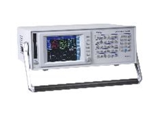 The Voltech PM 6000 ac/dc power analyser.