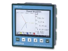 Power quality analyzer monitors