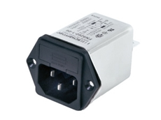 Schaffner low leakage current IEC inlet EMC filters are used for electrical applications where safety is vital