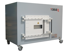 TESEQ reverberation chamber for electromagnetic compatibility testing