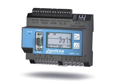 The new Janitza UMG 104 Power Analyser from Westek Electronics