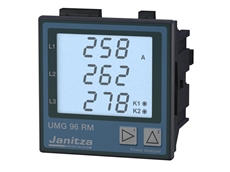 Janitza UMG 96RM digital panel meters