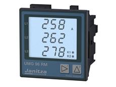 Janitza UMG 96RM digital panel meters