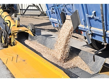 High capacity grain containment for increased efficiency