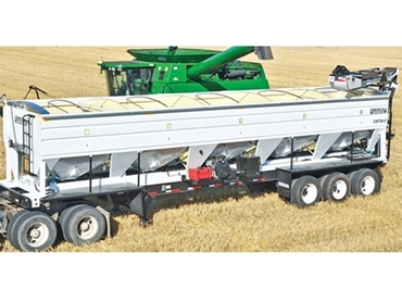 Effectively seed multiple acres per day with a single set-up