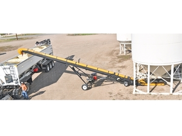 Conveyors can be either gas or diesel driven