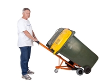 Safer bin handling with electric bin trolleys