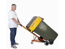 WheelieSafe Electric Bin Trolley