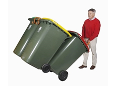 WheelieSafe Heavy Duty Electric Bin Trolley