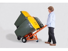 WheelieSafe Manual Bin Trolley