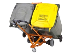 WheelieSafe's free-wheeling electric bin trolley