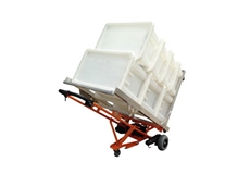 WheelieSafe's electric bin trolley was successfully adapted to carry laundry crates