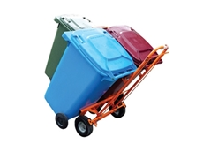 Wheeliesafe wheelie bin trolley