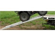 Aluminium loading ramp designed for rural applications