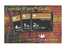 Industrial grade CompactFlash cards