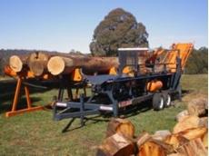 Rex log saws