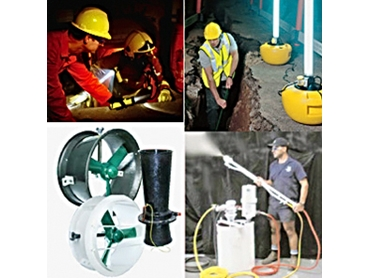 Grout Pumps and Ventilation Equipment from Whyte-Hall Australia