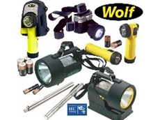The Wolf Safety Lamp range is now IECEx compliant.