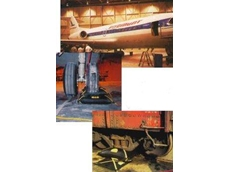 MaxiForce Air Lifting Bags are suitable for lifting airplanes and rail cars