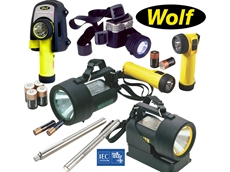 Wolf Explosion Protected Poratble Lighting from Whyte-Hall Australia