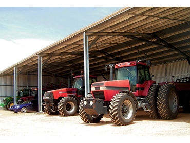 Our Open Front Farm sheds have open bays up to 9 metres. These buildings can be customised to suit your needs