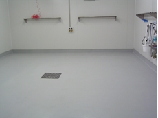 Non-slip flooring available from Wilson Industrial Lining