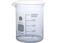 250ml Borosilicate Glass Beaker Low Form Style
