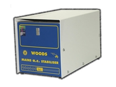 Woods mains AC stabilisers (MacS) deliver a reliable 240V power supply from a fluctuating input
