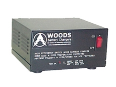Woods MINIcharge switch-mode battery chargers